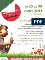 2013.Programme NPDC