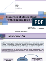 Properties of Starch Blends With Biodegradable Polymers. Expo MJS
