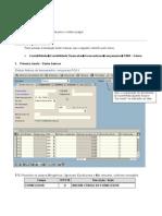 FB60 - Registro de Faturas de Entrada