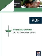 Royal Marine Commando training guide