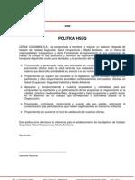 Anexo 1 Politica Hseq v.1