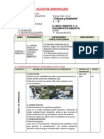 SESIÓN DE APRENDIZAJE  LAPTOPX 0 1