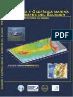 Geología y geofísica marina del ecuador