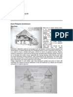 early Philippine architecture