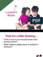 Choosing Books Ppt