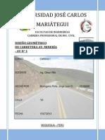 Informe Final del Proyecto de Carretera