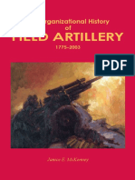 The Organizational History of Field Artillery, 1775-2003