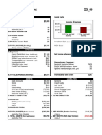 Rich Dad Financial Statement Template