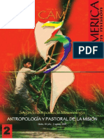Antropología y Pastoral de la Misión