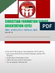 Cfs Orientation 2013 (1)