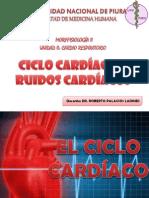Ciclo Cardiaco y Ruidos Card.