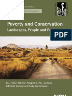 Uicn Livelihoods, Povery and Conservation
