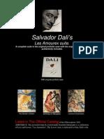 Salvador Dali Les Amoureus Story