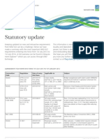 Latest Amendments Statutory Update From DNV June 2013 - 2014