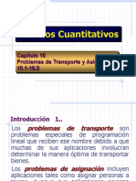 Modelos Cuantitativos 10.1-10.2