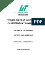 Reporte Final - Cinthya Gisela Flores Buentello - 5776