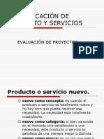 Identificacion de Producto y Servicios