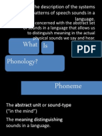 Useful Phonological Terms