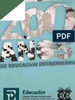 200 Anos de Educacion Entrerriana
