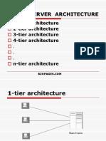 E-Commerce Client Server Architecture. Ppt