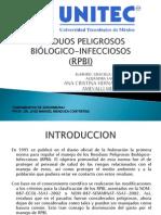 RESIDUOS PELIGROSOS BIÓLOGICO-INFECCIOSOS
