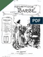 Rameau, Jean-Philippe _Le tambourin rondeau  Rameau, transcription pour guitare par Barbé