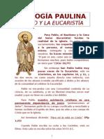 2ª Charla de D. Miguel Jose Cano Lopez. San Pablo y la Eucaristia.
