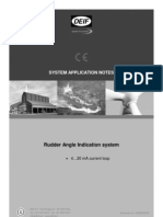 Application Notes Rudder Angle Indication System 4...20 mA Current Loop 4189350047 UK