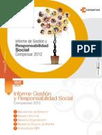 Informe de Gestión y Responsabilidad Social Compensar 2012