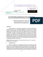 AUTOMATED HDL GENERATION OF TWO'S COMPLEMENT WALLACE MULTIPLIER WITH PAR