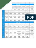 RHC Program Guide Hours