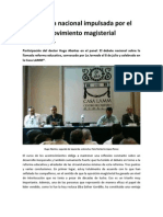 PARTICIPACIÓN DEL DR  HUGO ABOITES