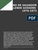 Gobierno Salvador Allende(1)