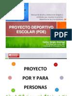 Manual para la elaboración del Proyecto Deportivo Escolar