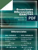 2 Ecuaciones Diferenciales EXACTAS