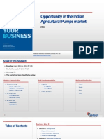 Opportunity in the Indian Agricultural Pumps Market_Feedback OTS_2012
