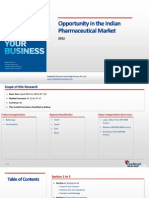 Opportunity in the Indian Pharmaceutical Market_Feedback OTS_2012