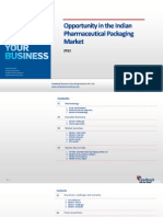 Opportunity in the Indian Pharmaceutical Packaging Market_Feedback OTS_2013