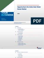 Opportunity in the Indian Solar Water Heater Market_Feedback_OTS_2012
