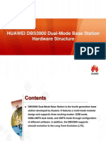 HUAWEI DBS3900 Dual-Mode Base Station Hardware Structure and Pinciple