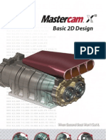 MasterCam Basic 2D Design