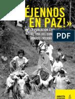 Colombia Dejennos en Paz