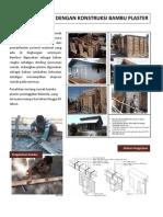 Iai - Rumah Dengan Konstruksi Bambu Plaster