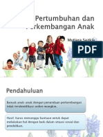 Referat Pertumbuhan & Perkembangan Anak Dr.rudi