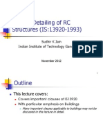 RCC Frame Design of Buildings