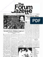 The Forum Gazette Vol. 1 No. 4 July 16-31, 1986