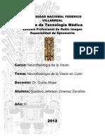 Neurofisiologia de La Vision en Color