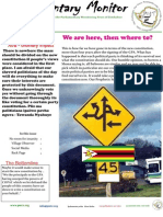 Parliamentary Monitor Newsletter -11 October 2012