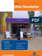 Communities Newsletter May 2013