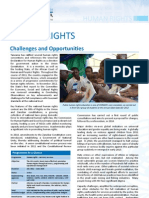 Human Rights Fact Sheet